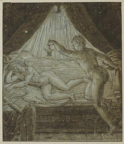Psyché et l'Amour endormi