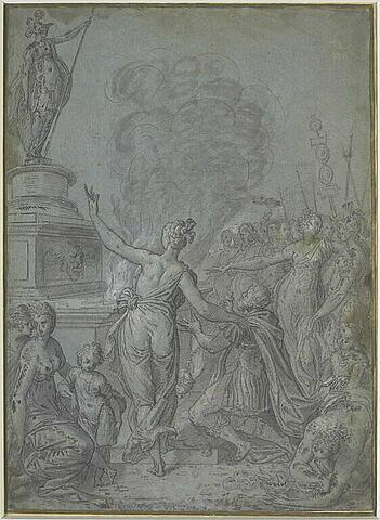 Salomon adorant une idole