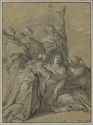 Saint Jean et les Saintes Femmes sous la Croix