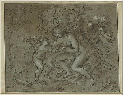 Vénus et l'Amour surpris par un faune