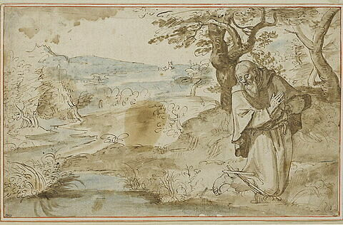 Saint Jérôme au désert