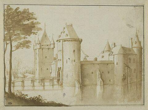Le château de Bouchout, près de Bruxelles