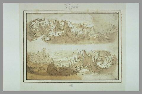 Deux paysages superposés