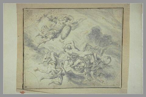 L'archange saint Michel chassant les rebelles
