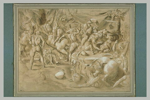 Combat des centaures et des lapites