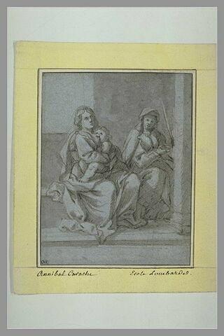 La Vierge, l'Enfant et sainte Anne