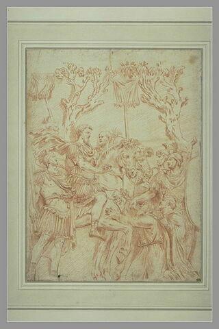 La soumission des habitants devant un général romain