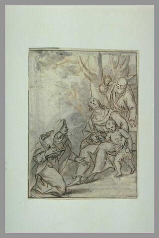La Sainte Famille et sainte Anne