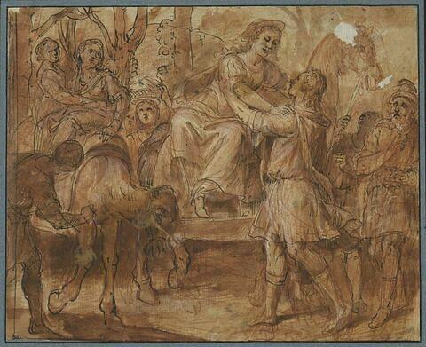 Isaac allant à la rencontre de Rébecca