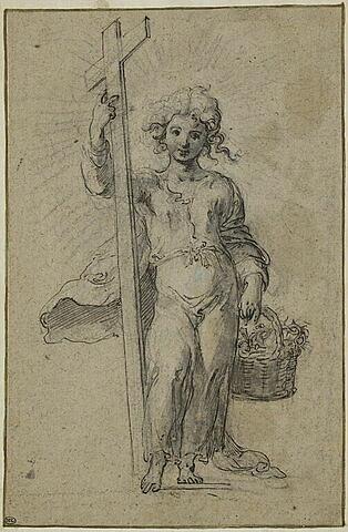L'Enfant Jésus avec les instruments de la Passion