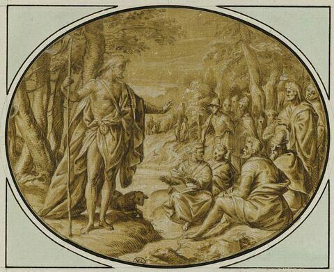 Saint Jean-Baptiste prêchant dans le désert