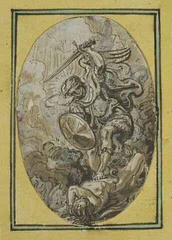 L'archange saint Michel terrassant le dragon