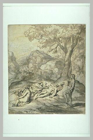 Cimon découvrant Iphigénie et ses deux compagnes endormies