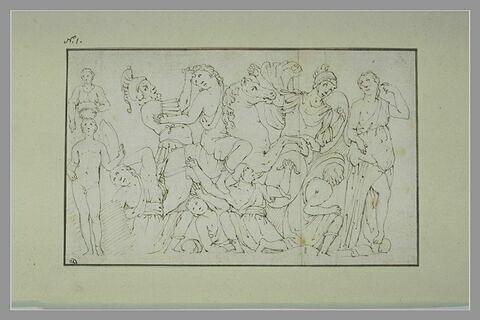 Grecs et Amazones