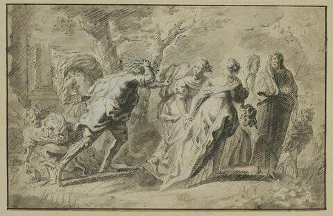 La course d'Atalante et d'Hippomène