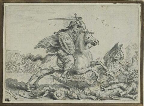 Saint Jacques le Majeur combattant les infidèles