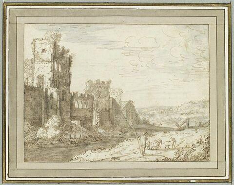 La porte San Paolo et les murs de Rome