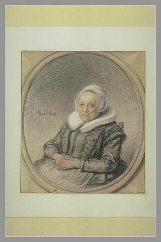 Portrait de la mère de Gérard Dou