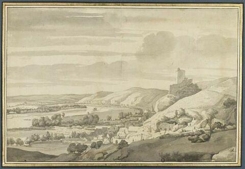 Vue de la Roche-Guyon (Seine et Oise)