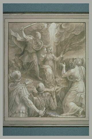 Martyre de sainte Barbe