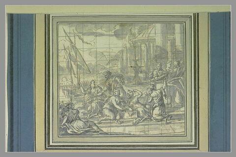 Ulysse reconnaissant Achille