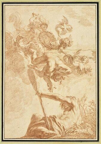 Minerve combattant le vice et les harpies