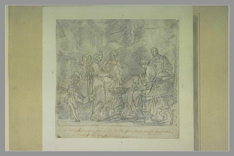 Seleucus Nicator cédant Stratonice à Antiochus Soter