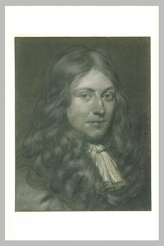 Portrait de jeune homme en perruque