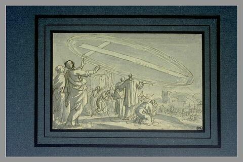 Le signe de la Croix, au-dessus de Jérusalem, au temps de l'évêque Cyrille