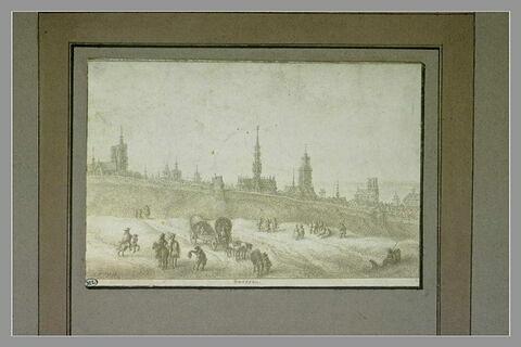 Vue d'une partie de la ville de Bruxelles