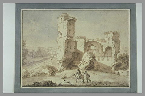 Ruines antiques en Italie