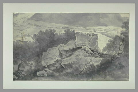 Etude de rochers