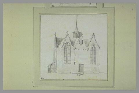 Petite chapelle, vue de côté