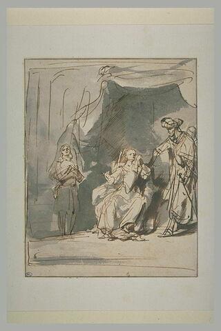 La femme de Putiphar accusant Joseph devant son mari