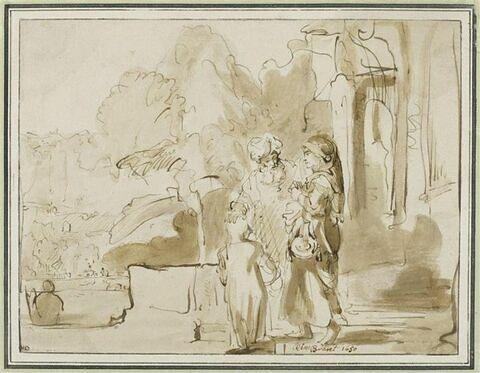 Abraham renvoyant Agar et Ismaël