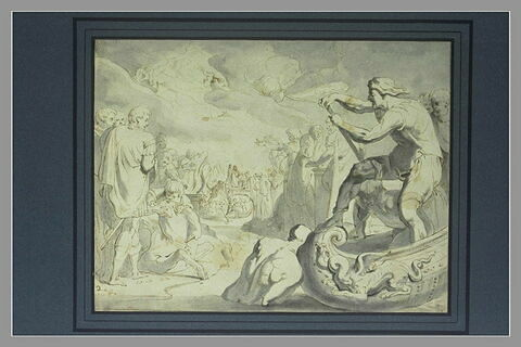 Ulysse à Ténédos sacrifie aux dieux pour les rendre favorables à son retour