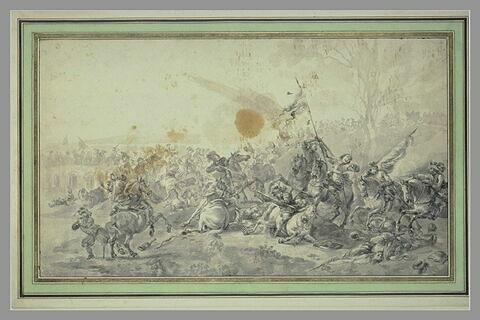 Combat de cavalerie