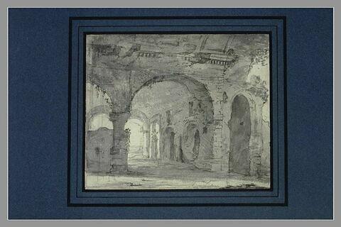 Ruines dites 'Les Ecuries de Mécène' à Tivoli
