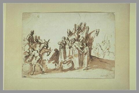 La coupe d'argent de Joseph trouvée dans le sac de Benjamin