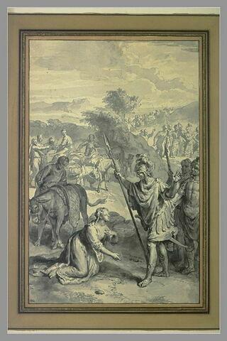 Abigaïl fléchissant David