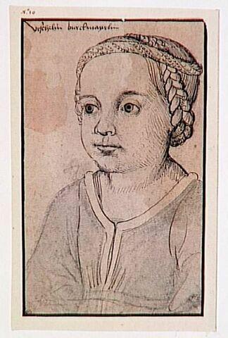 Portrait d'Urschelin Burgkmair