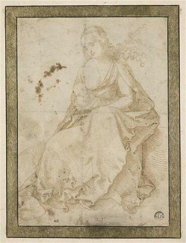 La Vierge donnant le sein à l'Enfant