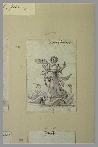 Terpsichore, muse des Choeurs, de la Danse et de la Poésie lyrique