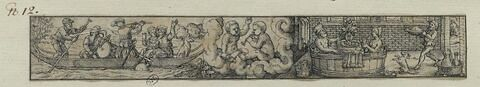 Mai : festin et concert ; Gemini ; le bain d'un couple avec diner