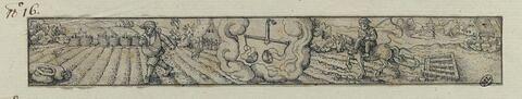 Septembre : le semeur ; Arcturus ; le hersage