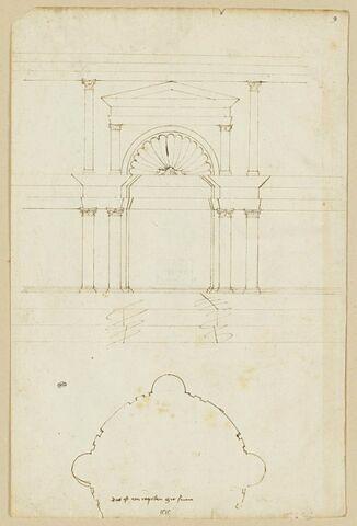 Portail d'une chapelle à Sienne