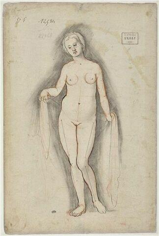 Etude poue une figure d'Eurydice