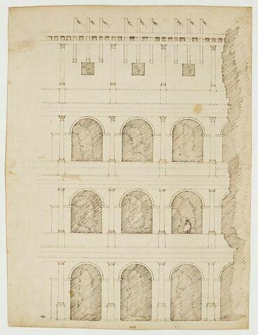 Fragment du Colisée à Rome