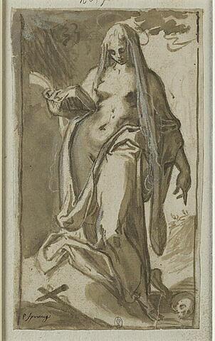 Sainte Madeleine en prière