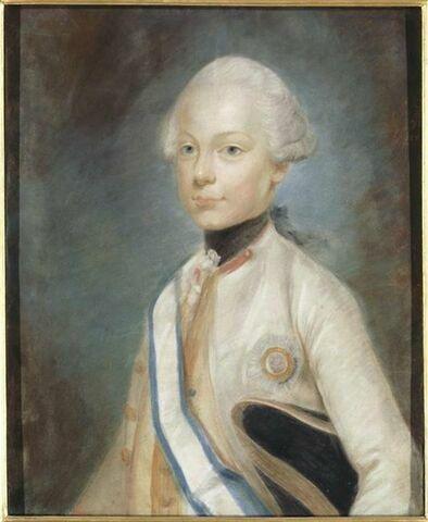 Portrait de Maximilien-François-Xavier (1756-1802), archiduc d'Autriche.